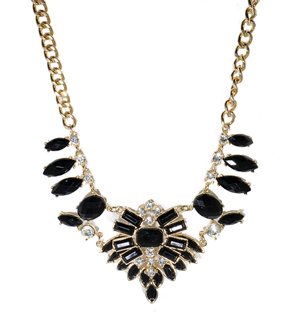 Black Moon Necklace - filthy-rich-vision