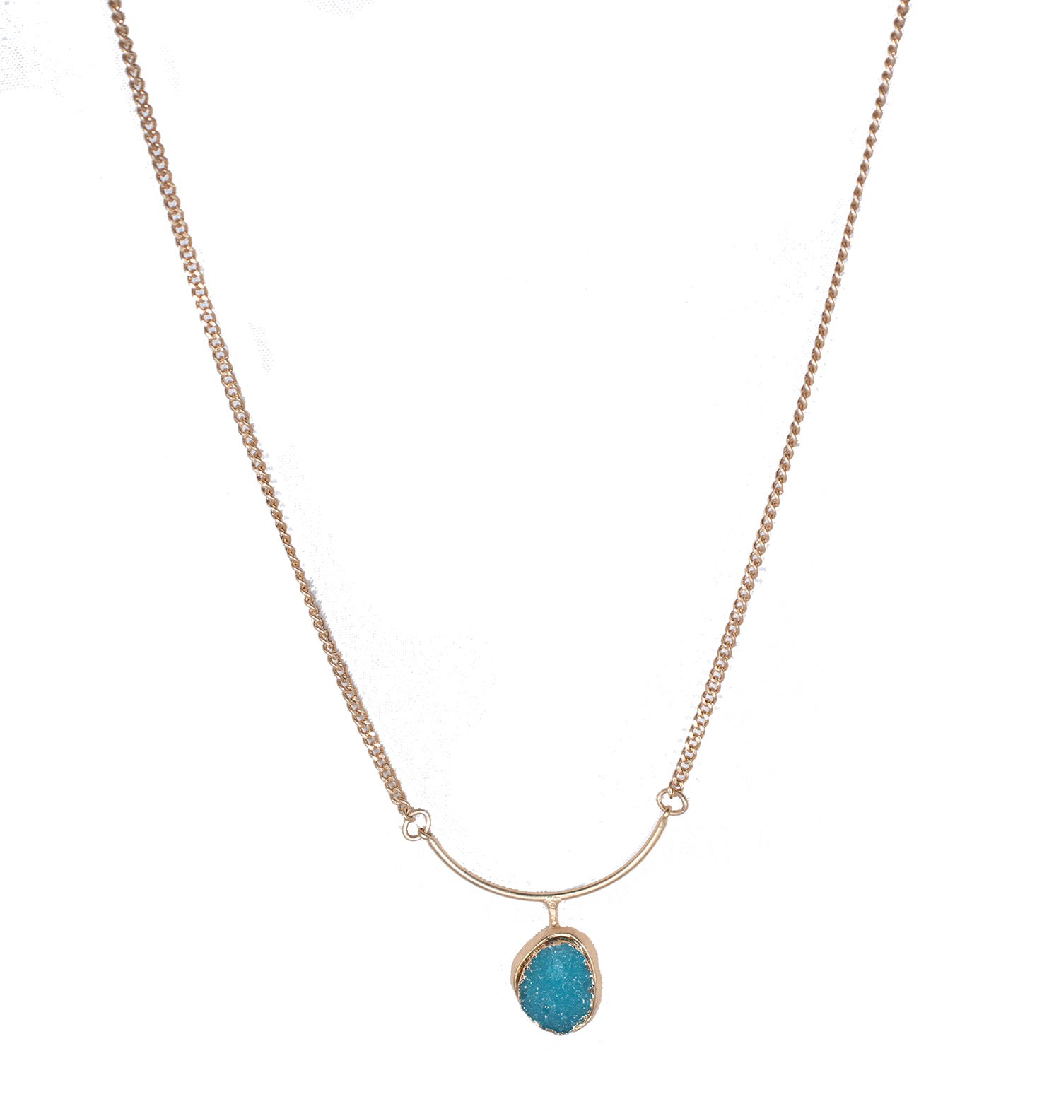 Blue Gem Necklace - filthy-rich-vision