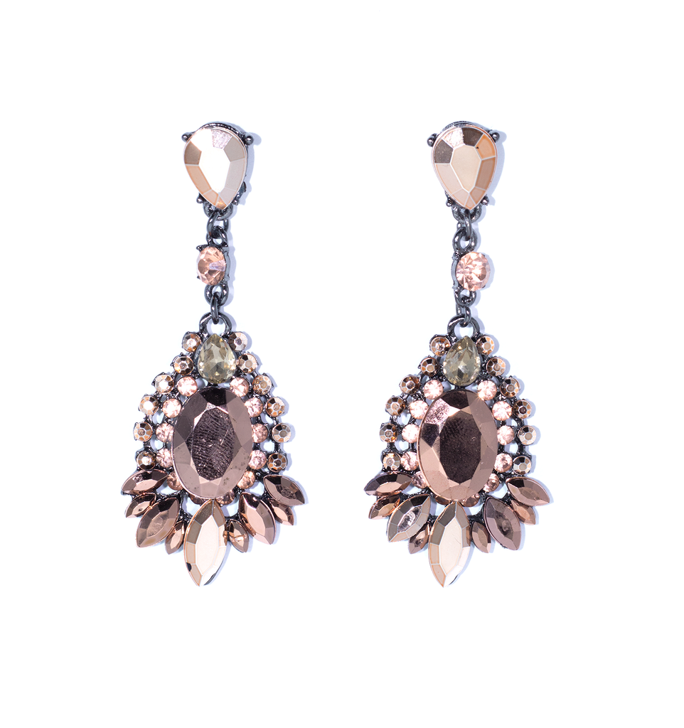 Bronze Goddess Earrings - filthy-rich-vision