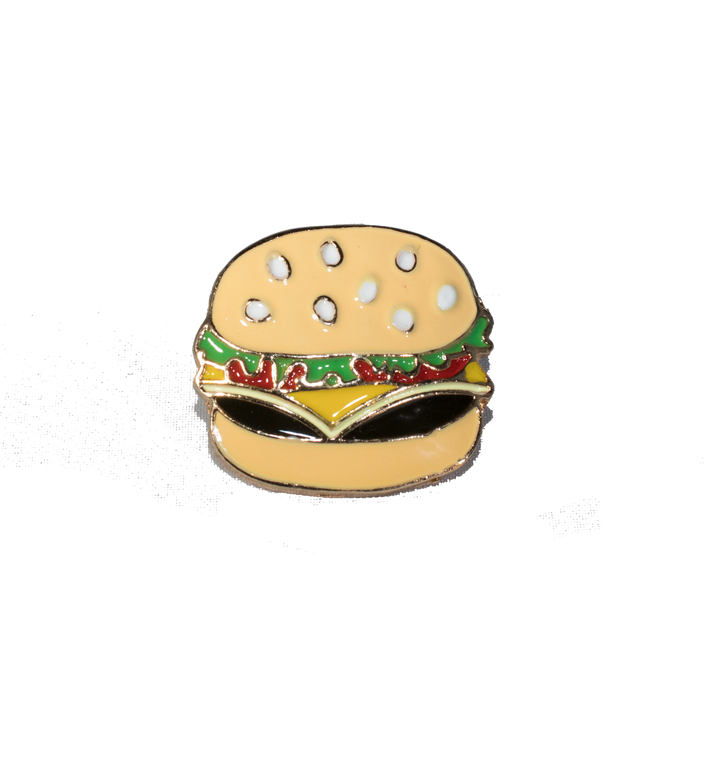 Burger Pin - filthy-rich-vision