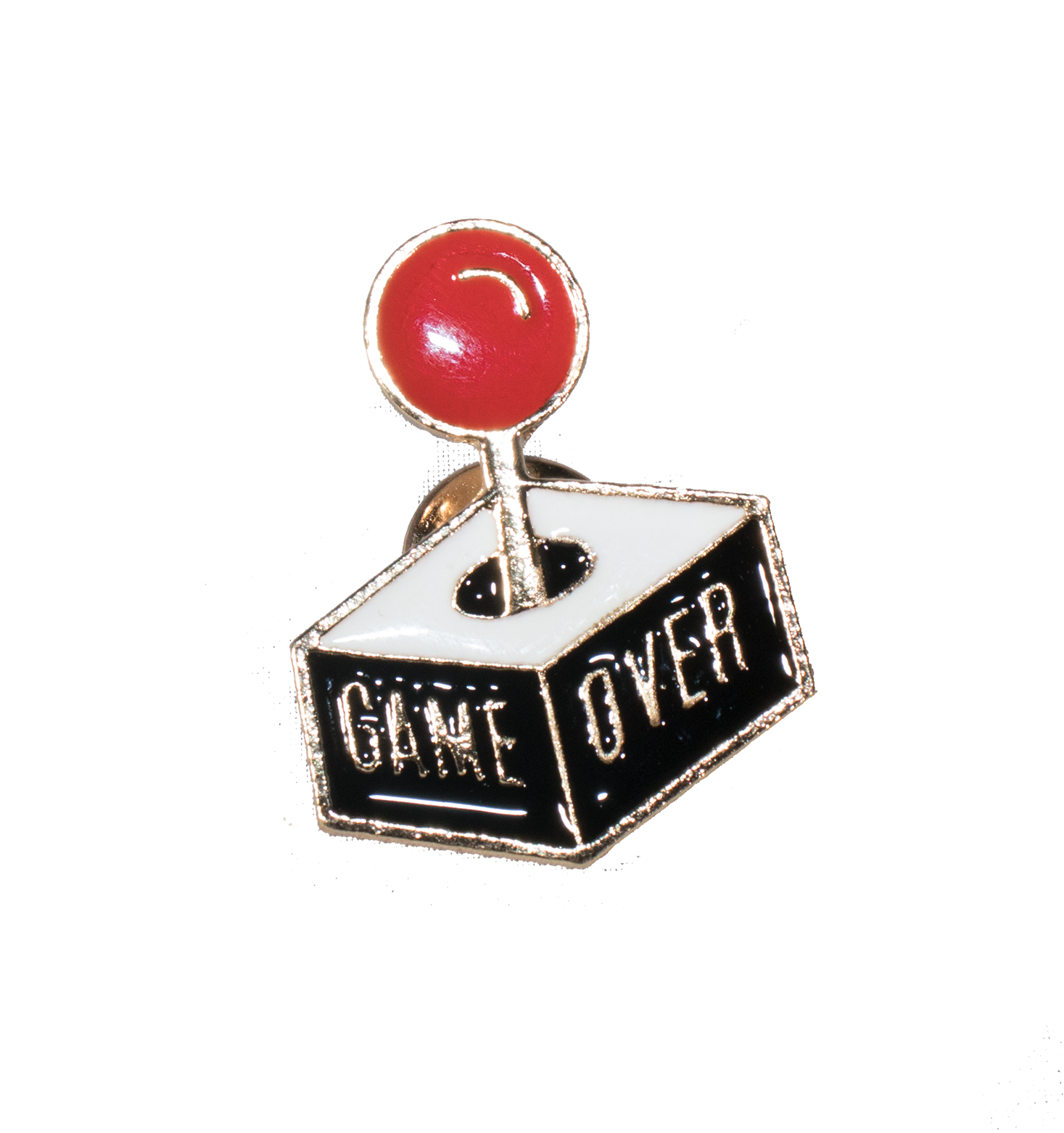 Game Over Pin - filthy-rich-vision