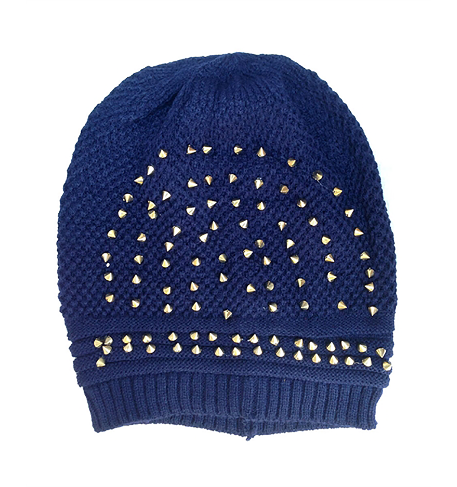 The Studded Beanie - filthy-rich-vision