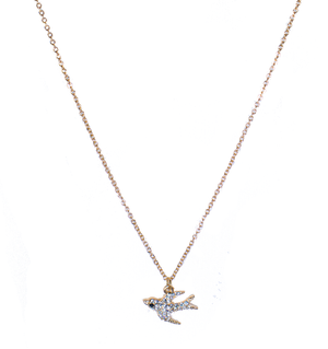 Pretty Bird Necklace - filthy-rich-vision