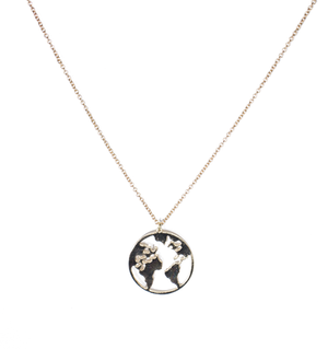 The World Is Mine Necklace - filthy-rich-vision