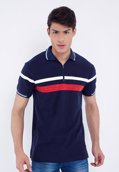 Polo Men Akeno Navy
