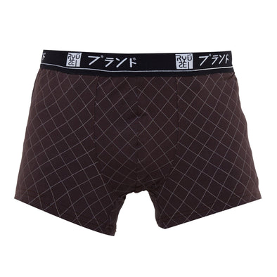 Boxer Men Big Size Hinoto Brown T