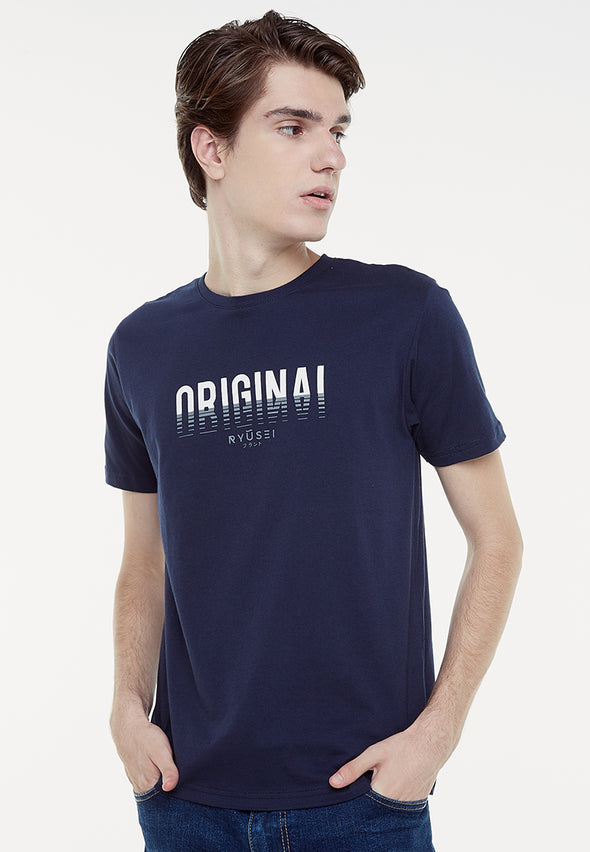 Tsh Men Orginal Navy