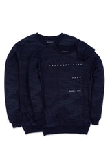 [ COUPLE EDITION ] Swt True Happiness FP Navy - SATU SET