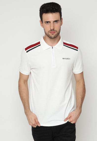 Polo Men Hitoshi List RB White