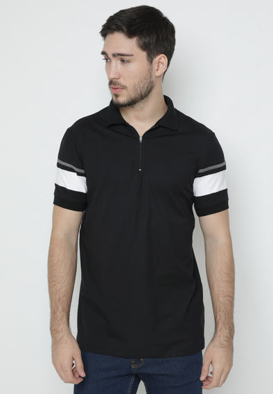 Kaos Polo Ryusei Polo Men Rai Black