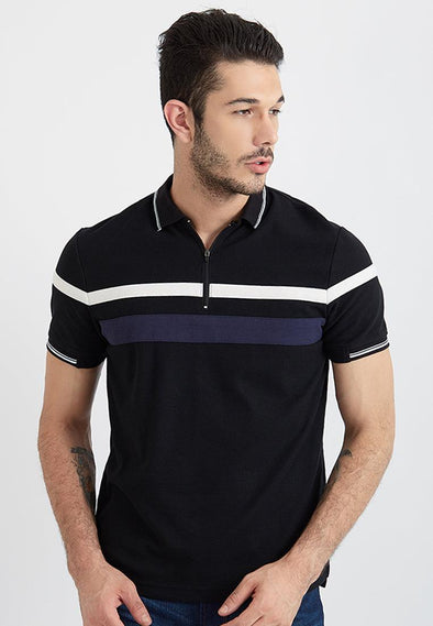 Polo Men Akeno Black