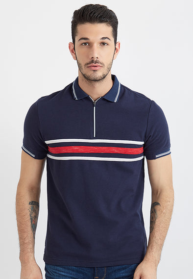 Polo Men Noboru Navy