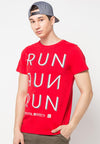 Tsh Men Run Run Red