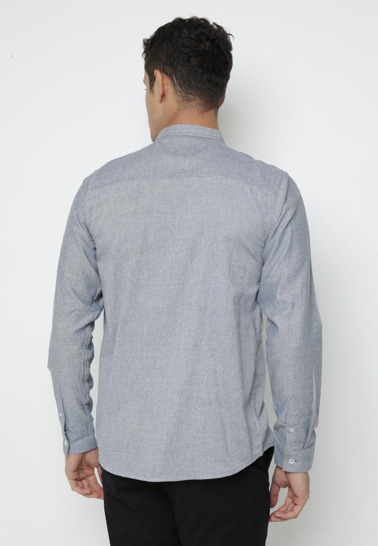 Shirt Men Sachiye Dark Grey