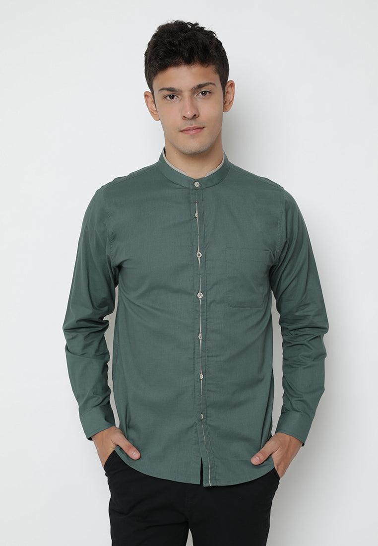 Shirt Men Yuzuki Green