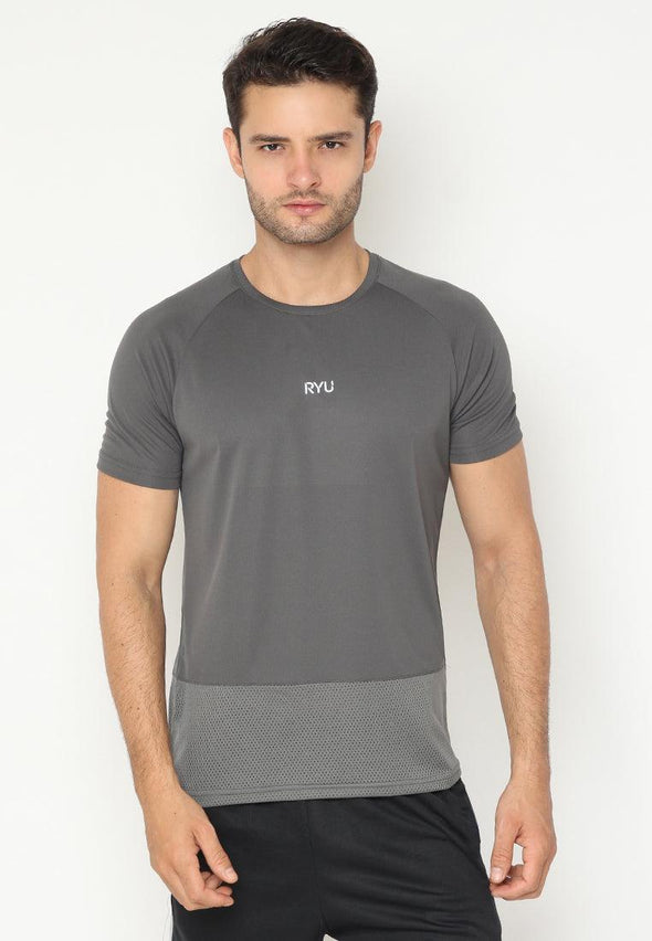 Tsh Men Sporty Yejun Grey