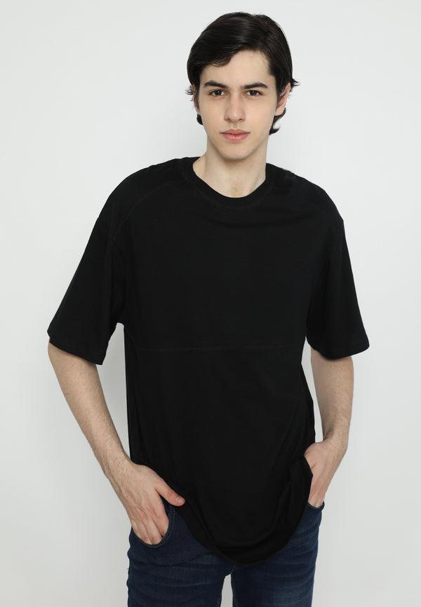 Tsh Men Oversize Yoshio Black