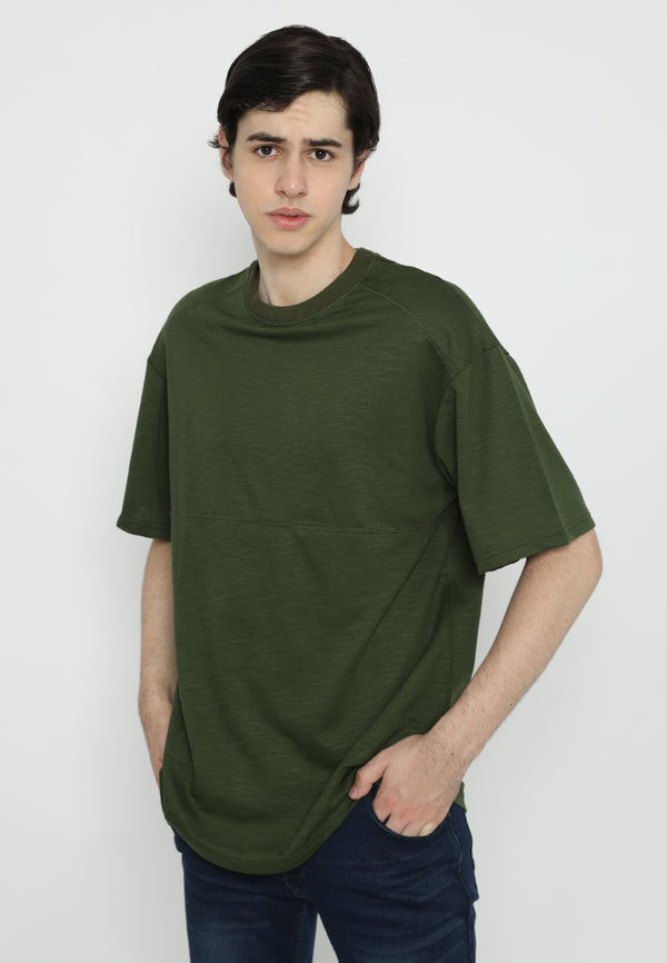 Tsh Men Oversize Yoshio Green