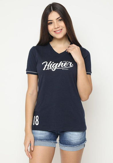 Tsh Higher Vneck Navy