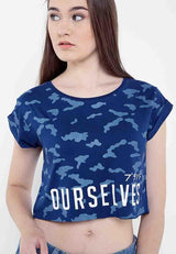 Tsh OurSelvesCropte Navy