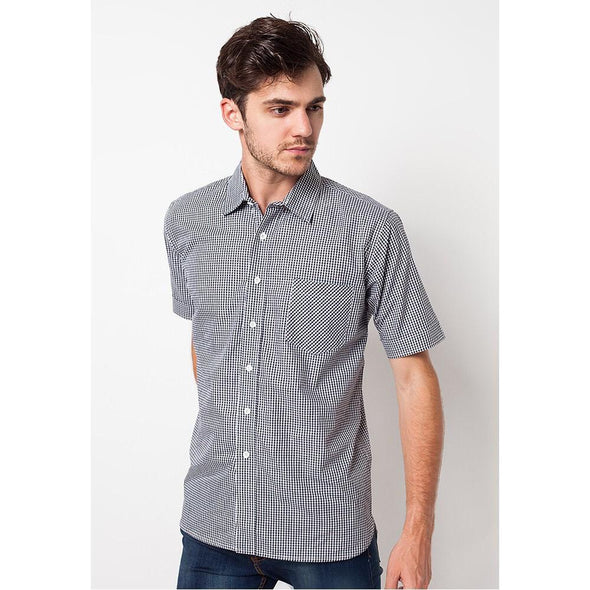 Shirt Men Hiraki Black