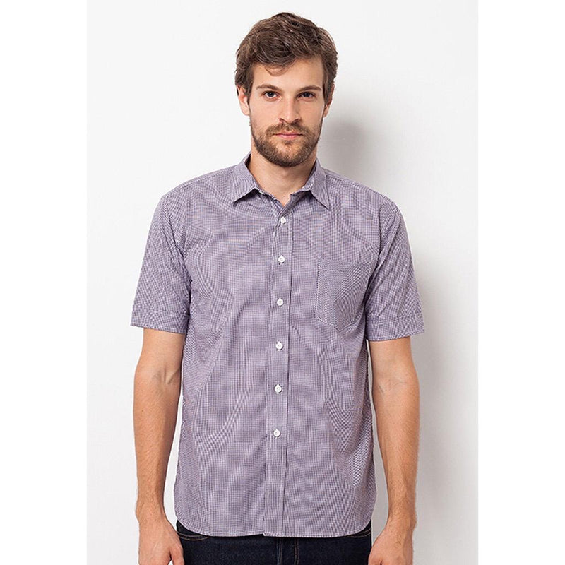 Shirt Men Hiraki Purple