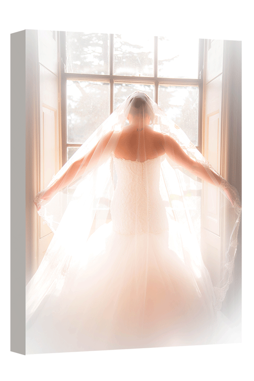 Surprise her with a thoughtful canvas print from your wedding   photoWOW