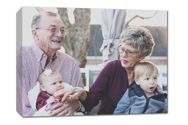 Canvas prints are a great gift for an anniversary. Design one online at photoWOW Australia