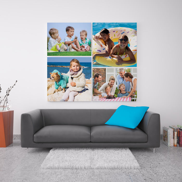 Wall display cavases are a great way to display multiple prints | photoWOW Online
