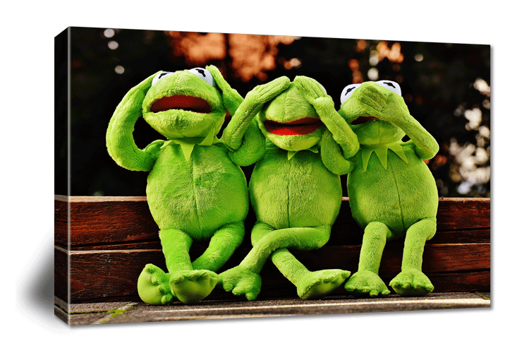 Canvas prints for nurseries and bedrooms. For babies and toddlers | photoWOW