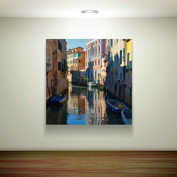 A 100cm Square canvas. When you have a great big space to fill and only the biggest will do.