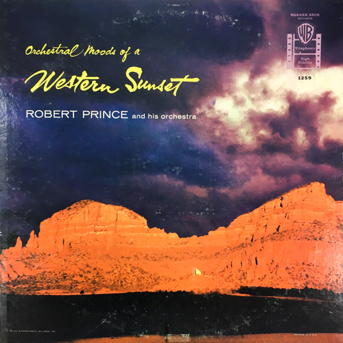 Robert Prince and his orchestra - Western Sunset