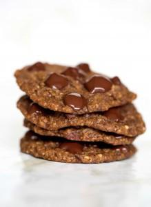 Chocolate Steel Cut Oatmeal Cookies