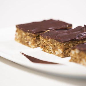 Healthy Chocolate Nut Butter Granola Bars