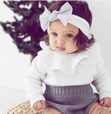 Long Sleeve Knitwear Romper