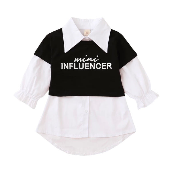 Mini Influencer Shirt Dress