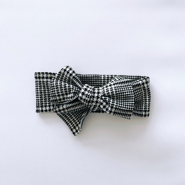 Hip in Houndstooth Headwrap