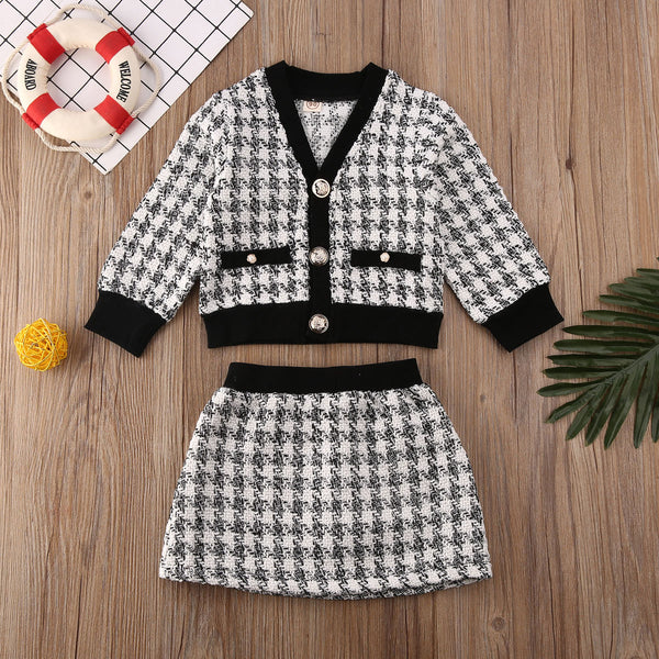 Carlotta Houndstooth Mini Set
