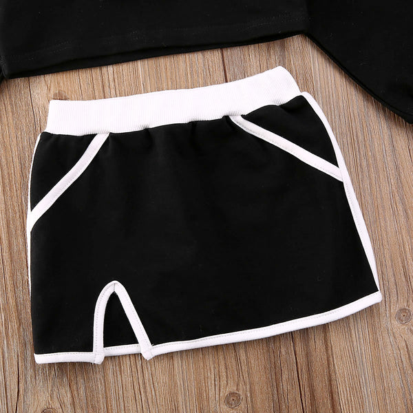 Jessie Mini Skirt Leisure Set