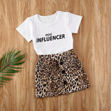 Mini Influencer Skirt Set