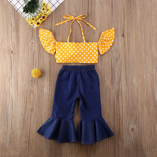 Josie Off-Shoulder Set