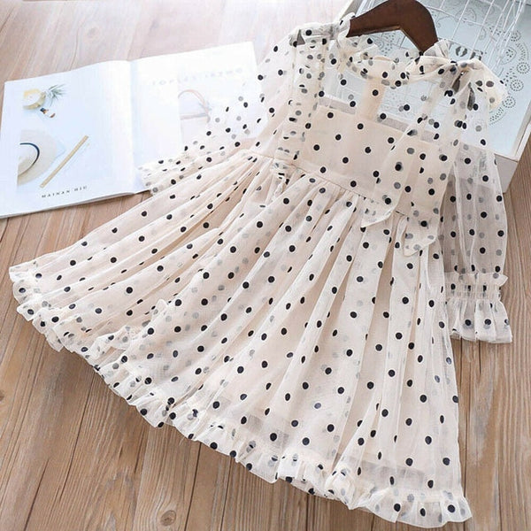 Zara Polka-Dot Tulle Dress