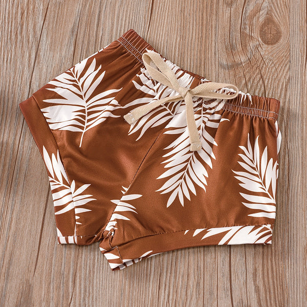 Indie Palm Print Summer Set