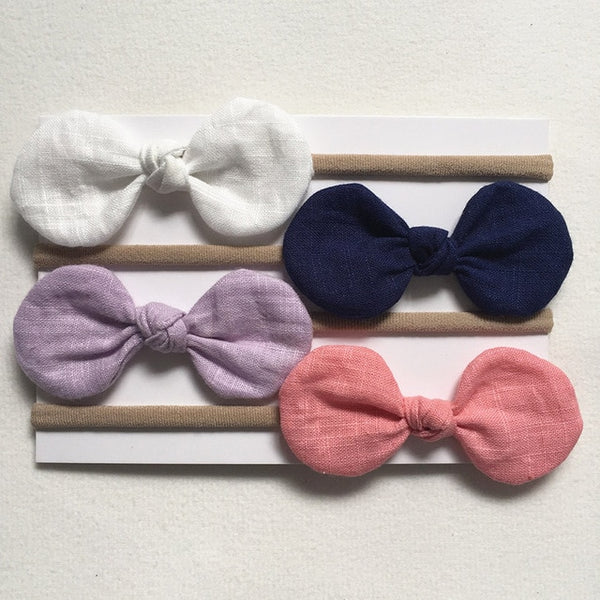 Lottie Bow Headband - 4 Pack