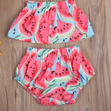 Watermelon Crush Romper Set