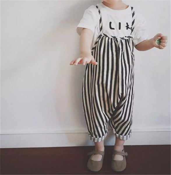 Felicity Striped Jumpsuit