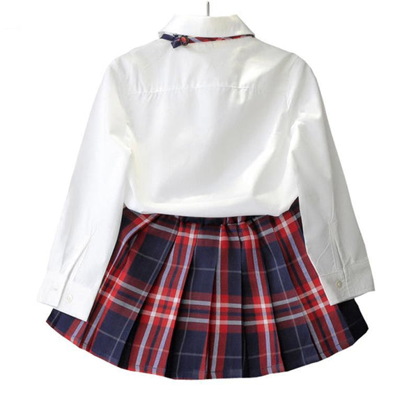 Dakota Tartan Skirt Set