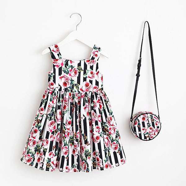 Floral Symphony Summer Dress Set