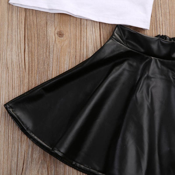 'Mini Boss' Skirt Set