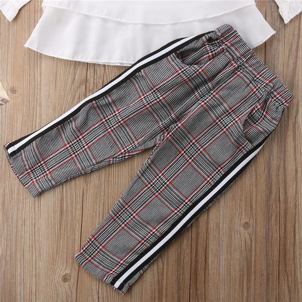 Sasha Plaid Set